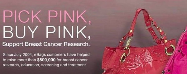 eBags Think Pink Buy Pink