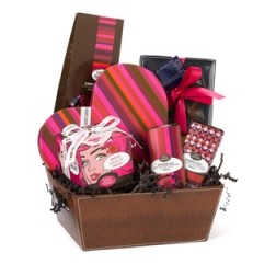Pop Art Gift Basket from Seattle Chocolates