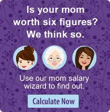 Mom Salary Wizard by Salary.com