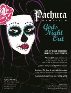 Pachuca Cosmetics Day of the Dead Competition