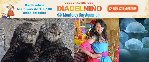 Monterey Bay Aquarium's Día del Niño Event & Ticket Giveaway