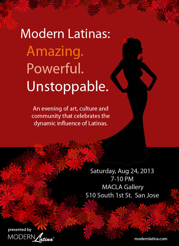 "Modern Latina presents  ""Modern Latinas: Amazing. Powerful. Unstoppable."""