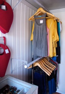 Image of rack of clothes