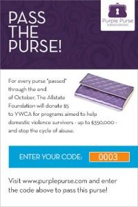 Purple Purse code.