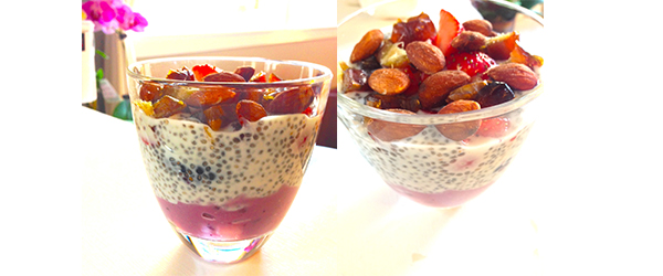 Yogurt Chia Seed Parfait