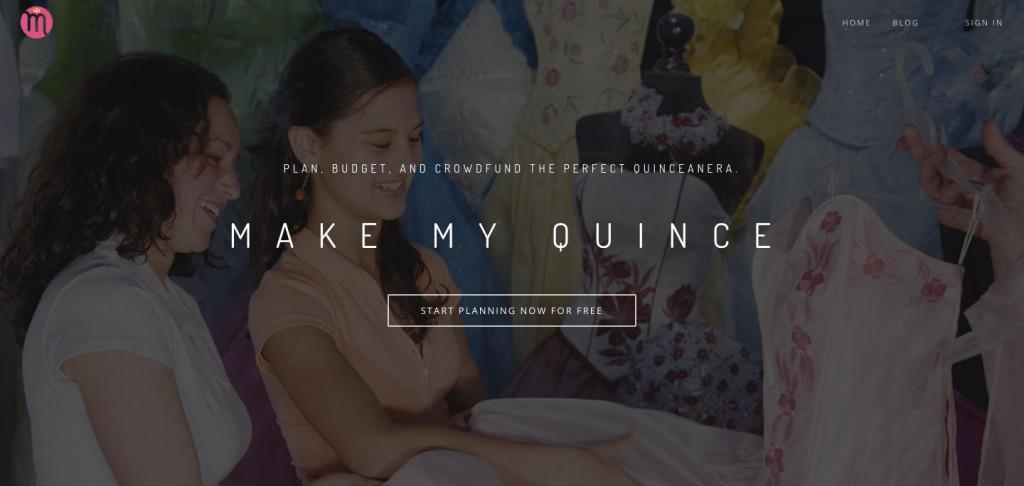 MakeMyQuinceWebsite