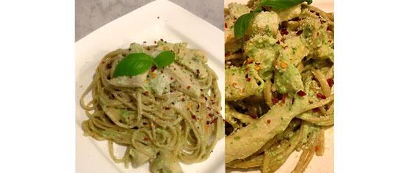 Pasta Verde: Poblano Cream Sauce & Chicken Spaghetti