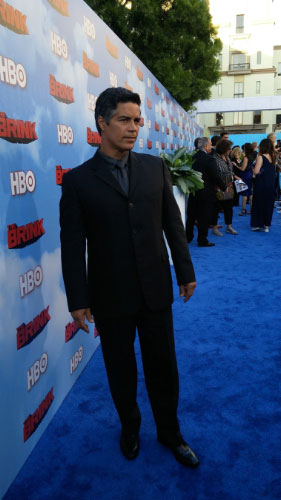 Esai Morales at the Premiere of HBO's The Brink (PRNewsFoto/Link Entertainment)