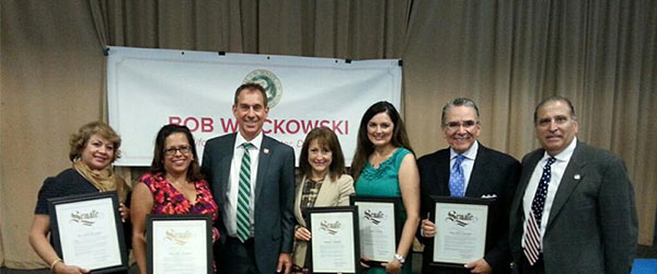State Senator Bob Wieckowski Honors Local Latino Leaders