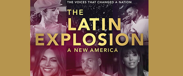 """Poster for """"The Latin Explosion: A New America.""""Courtesy of HBO"""