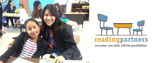 Photo credit: Alexandra DeMarco, Senior Site Coordinator for Reading Partners.