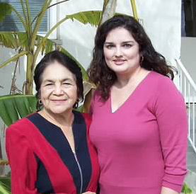 One of my first and most memorable interviews with Dolores Huerta in 2006. She is an incredible Latina leader who cofounded the United Farm Workers (UFW) and continues to be an activist today.