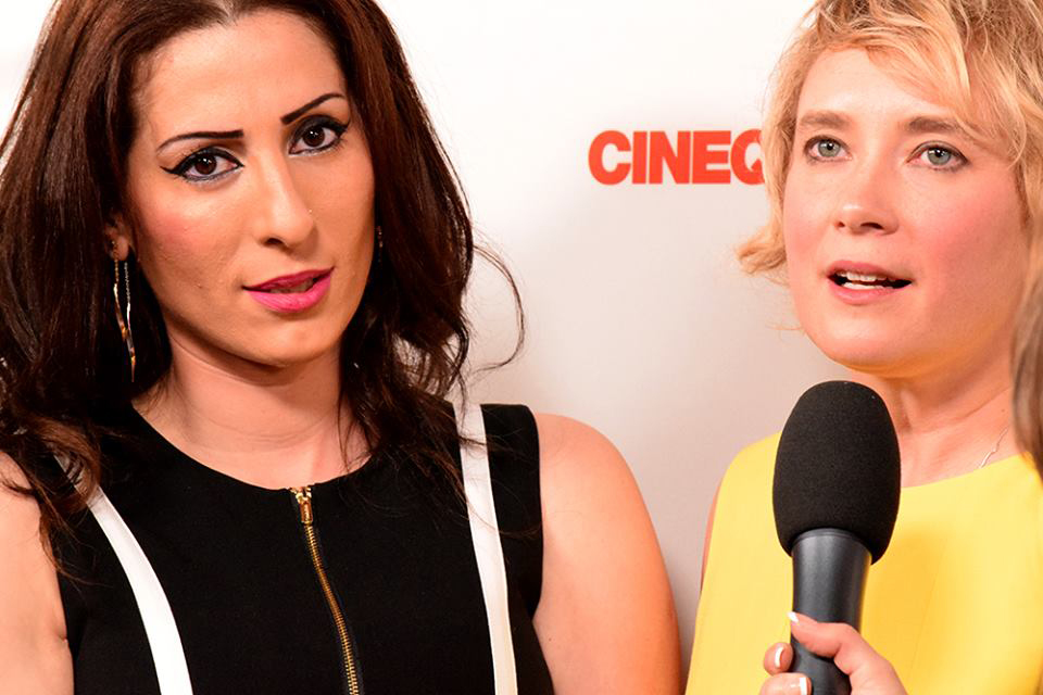 Lina and Jen from The Promise Land on the #Cinequest Red Carpet event  | Photo by Eydie Mendoza
