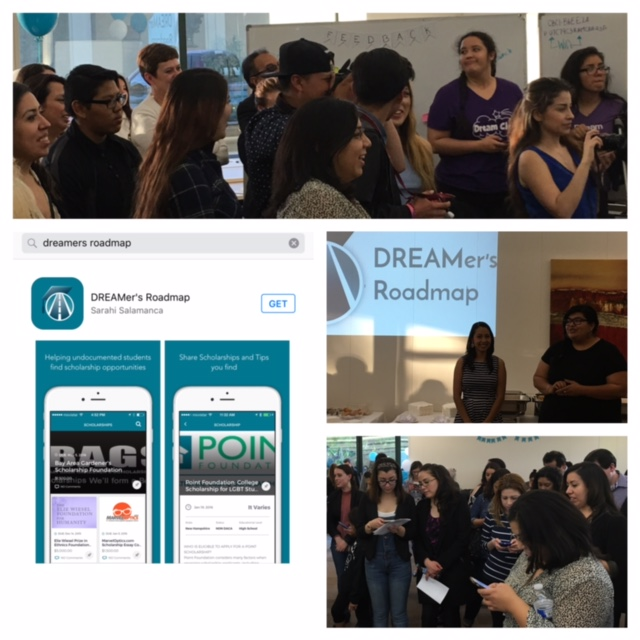 Everyone was able to be the first to download the DREAMers Roadmap App.