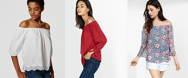 What I Want Now: Off-the-shoulder Tops