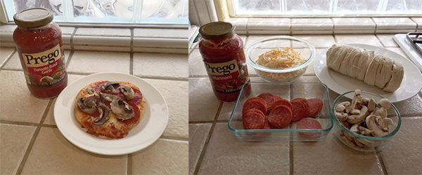 Recipe: Mini Pizzas #CampbellSavings