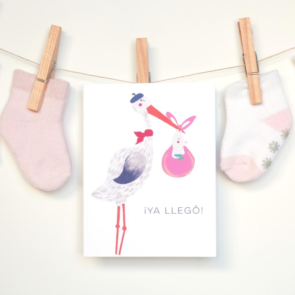 Card-Ya-Llego-Stork-Tendedero