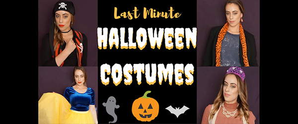 4 Affordable Last Minute Halloween Customes