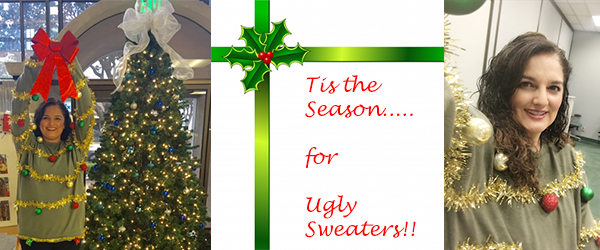 Bring on the Ugly Sweaters for the Holidays