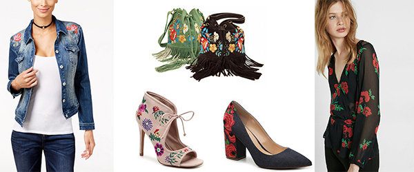 What I Want Now: Floral Embroidery