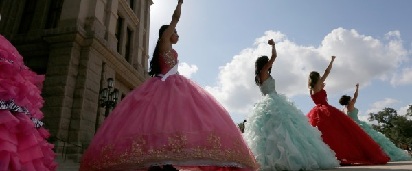 Teen Girls Stage Incredible Quinceañera Protest at Texas Capitol Against Vile Anti-Immigrant Law