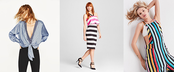 What I Want Now:  Statement Stripes!