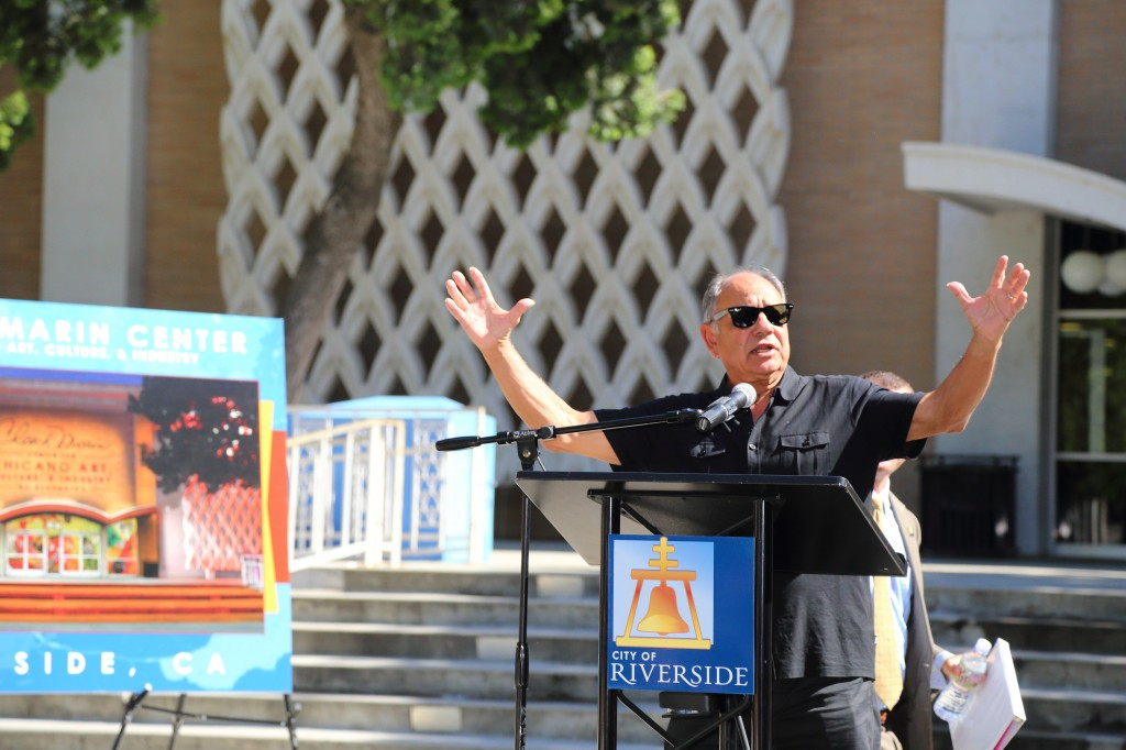 Image provided from the press conference Cheech Marin Center and of Marin and City officials on May 16, 2017.