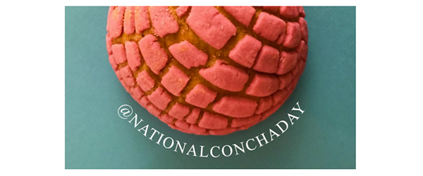 National Concha Day – December 8