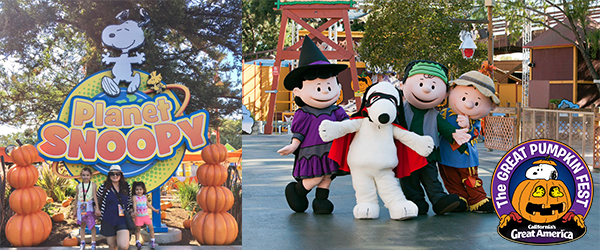 Kick Off the Halloween Season at Great America's Great Pumpkin Fest