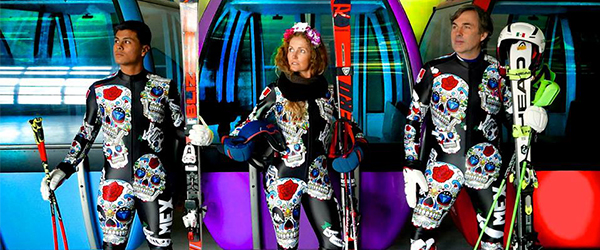 Mexico's Alpine Ski Team Gear Is A Gorgeous Tribute To The Day Of The Dead